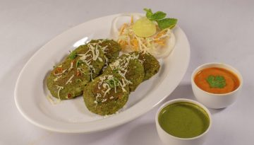 Veg Cheesy Hara Kebab
